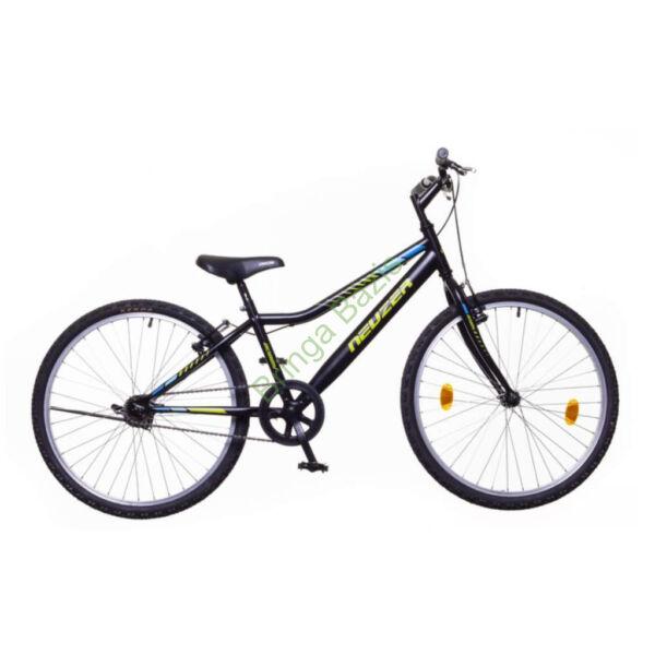 Neuzer Bobby gyerekkerékpár 20'', 1seb, fekete-zöld