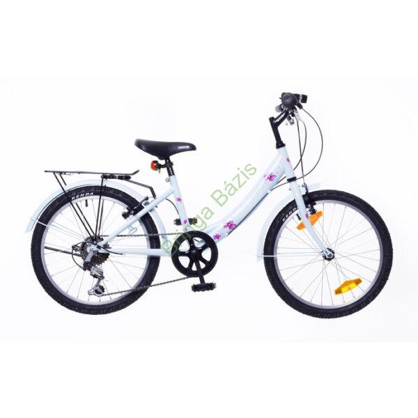 Neuzer Cindy City gyerekkerékpár 24'', 6 seb, babyblue