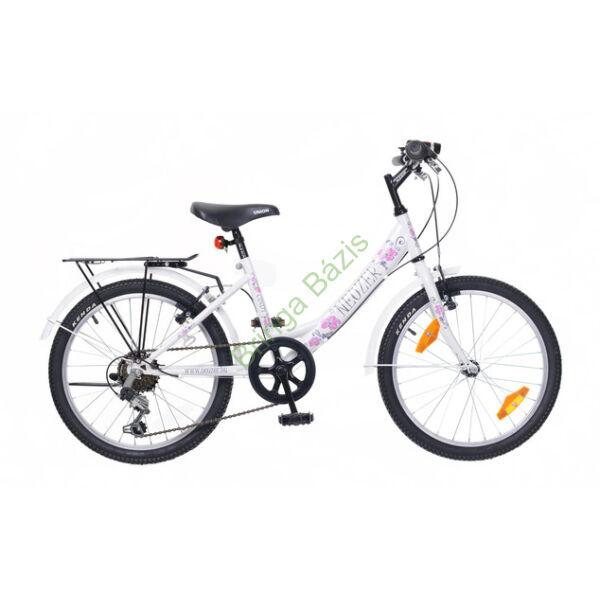 Neuzer Cindy City gyerekkerékpár 20'', 6seb, fehér