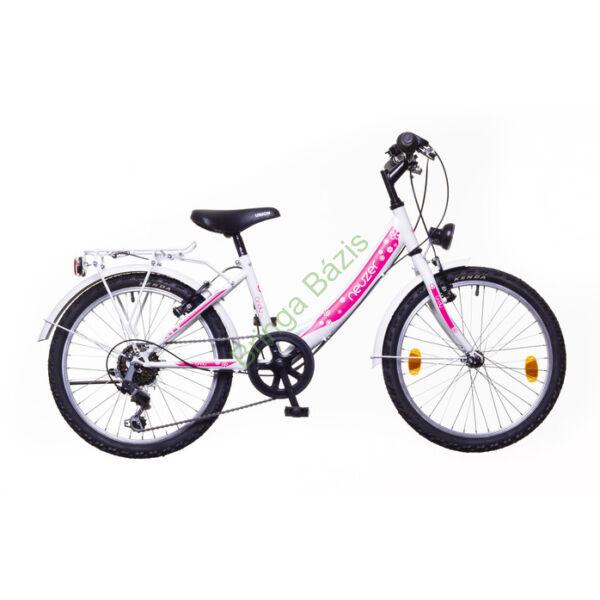 Neuzer Cindy City gyerekkerékpár 24'', 6 seb, fehér