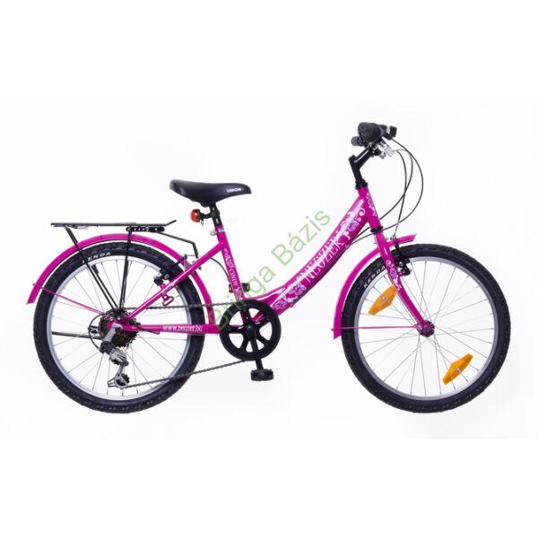 Neuzer Cindy City gyerekkerékpár 24'', 6 seb, pink