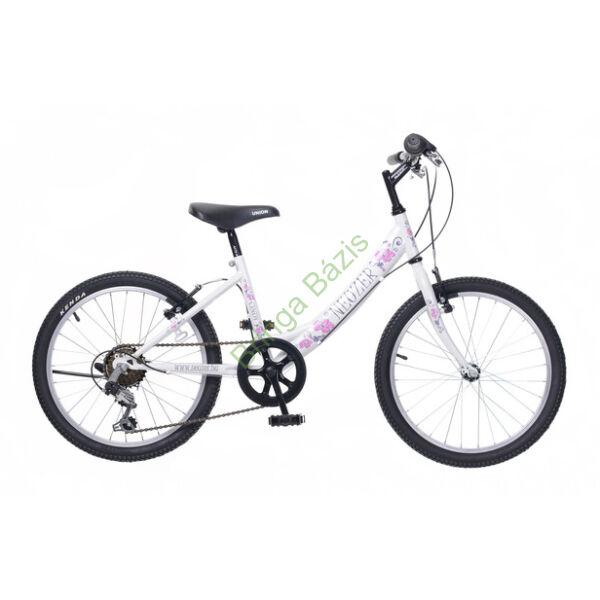 Neuzer Cindy gyerekkerékpár 20'', 6seb, fehér