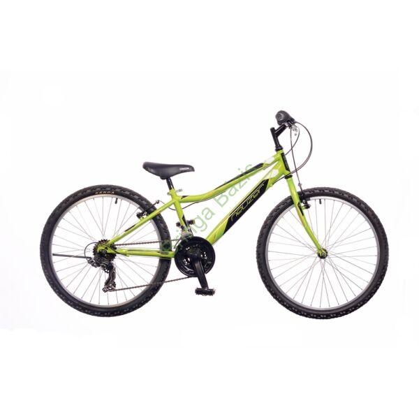 Neuzer Bobby gyerekkerékpár 24'', 18 seb, zöld