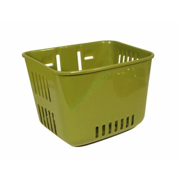 Műanyag gyerek kosár (Sötét zöld)