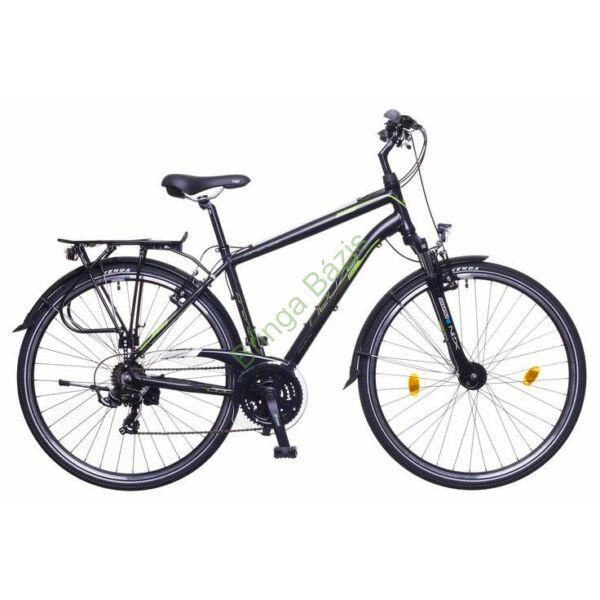 Neuzer Firenze 100 trekking kerékpár, szürke-zöld