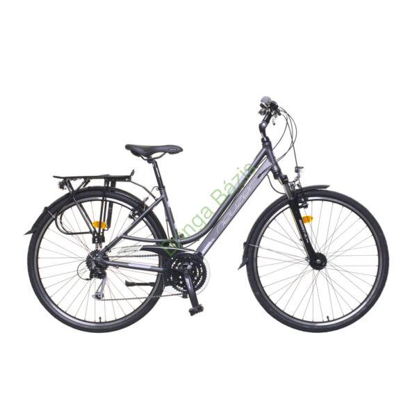 Neuzer Ravenna 300 női trekking kerékpár, 24seb, agydinamós